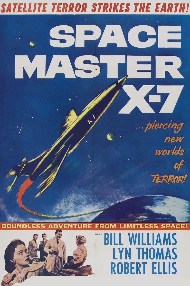 Space Master X 7 movie poster