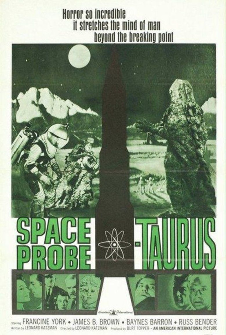 Space Probe Taurus movie poster