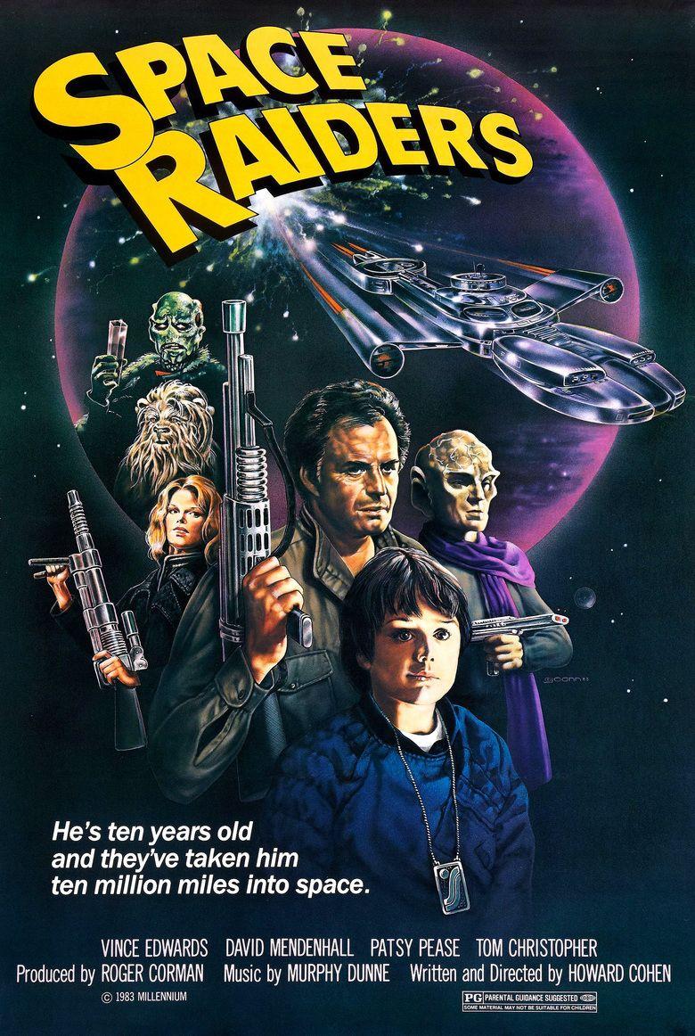 Space Raiders (film) movie poster
