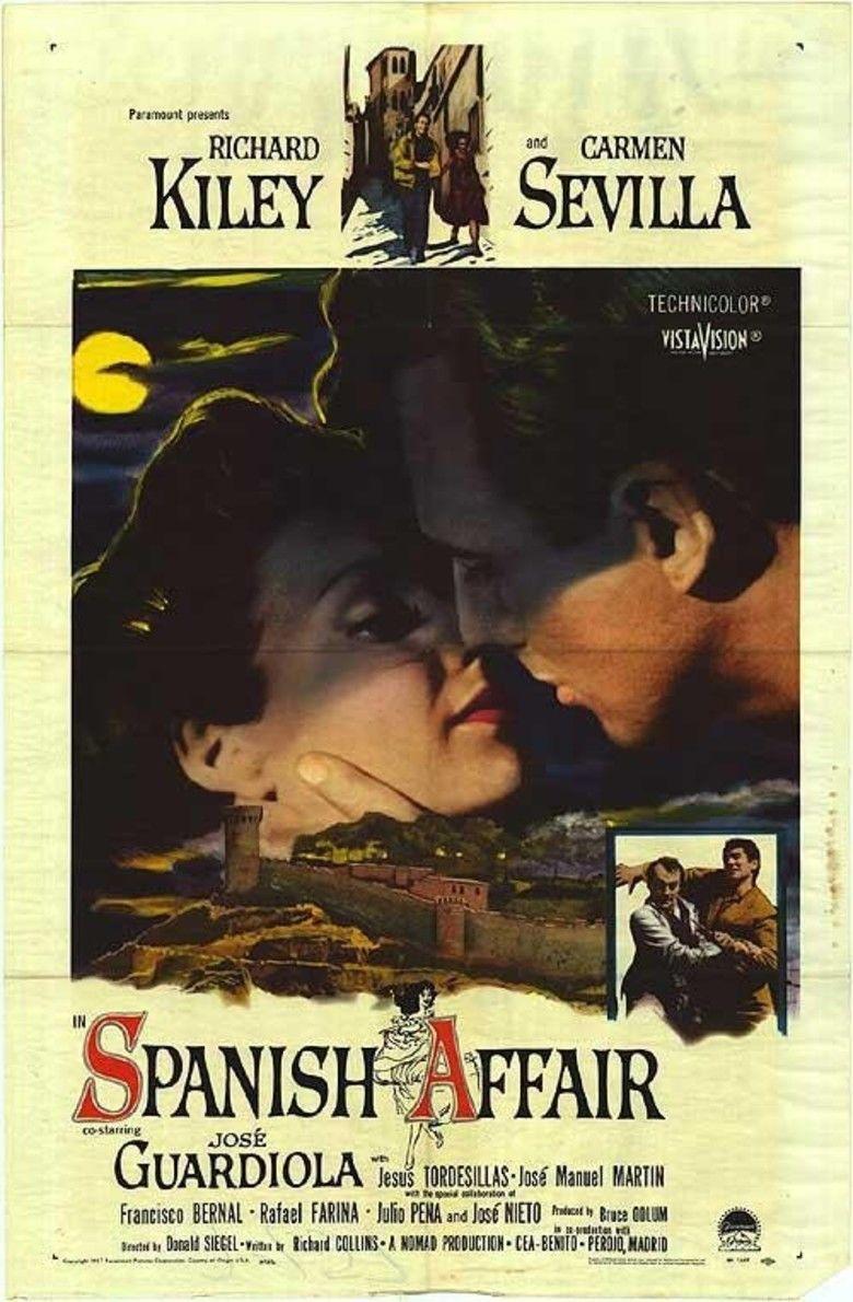 Spanish Affair movie poster