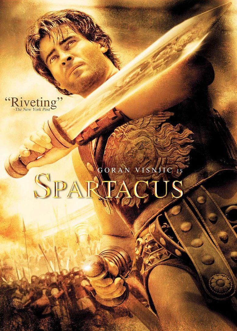 Spartacus (miniseries) movie poster