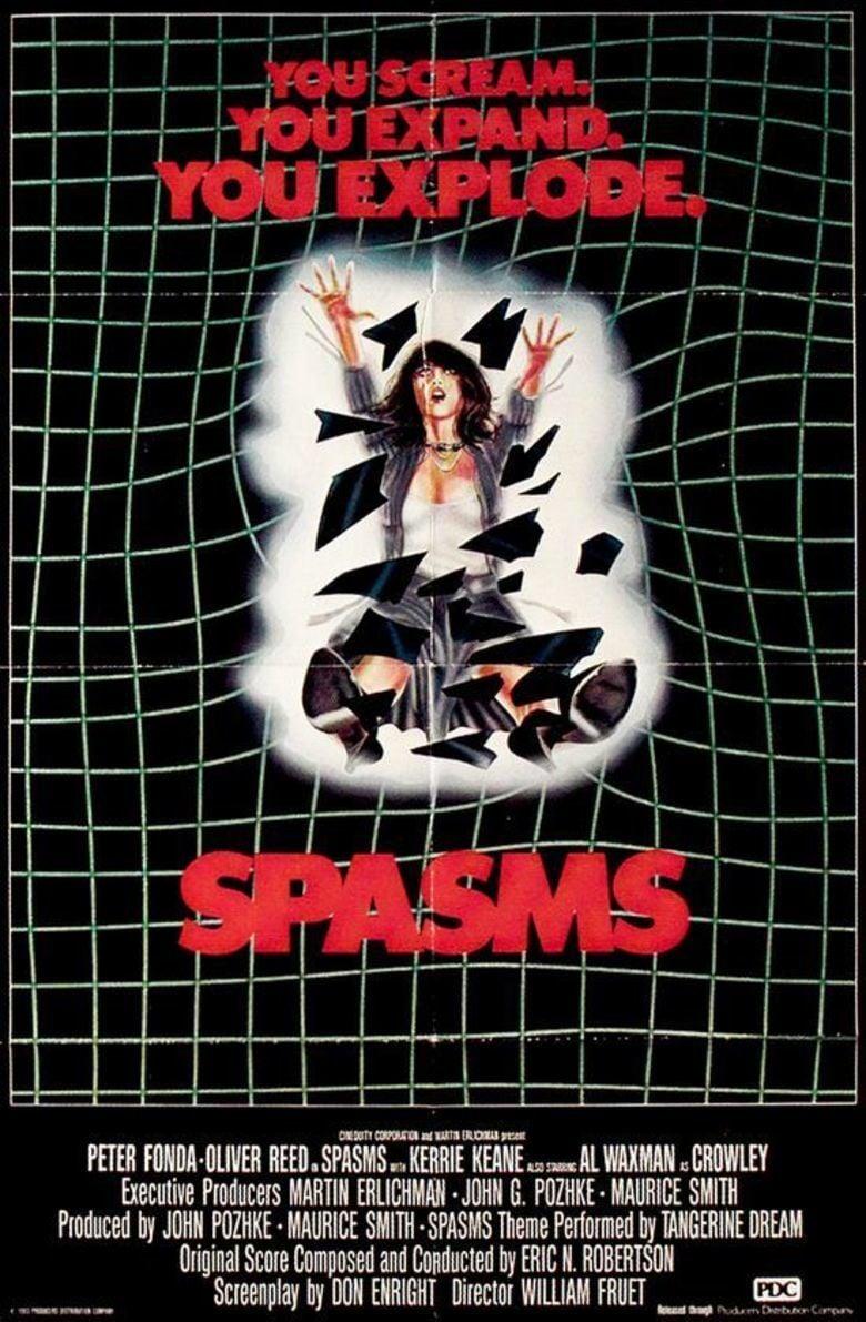 Spasms movie poster
