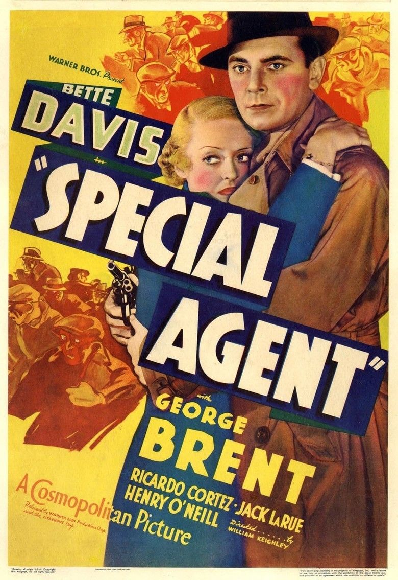 Special Agent (1935 film) movie poster