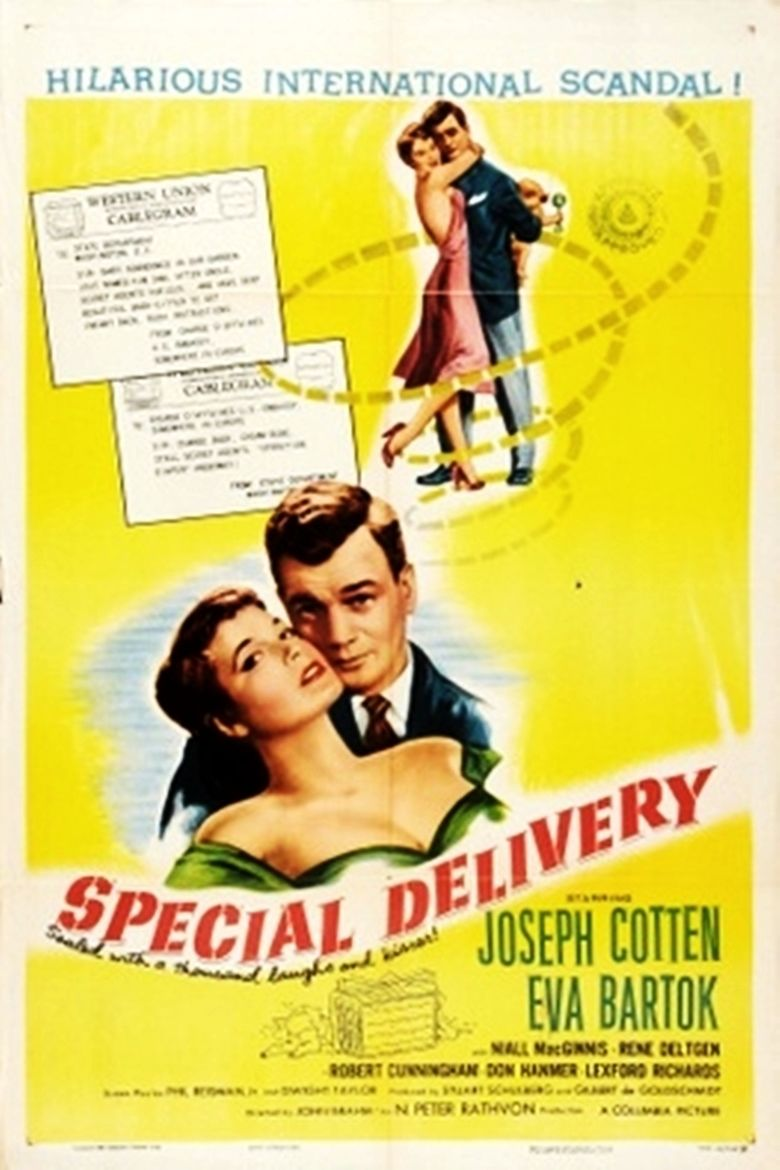 Special Delivery (1955 film) movie poster