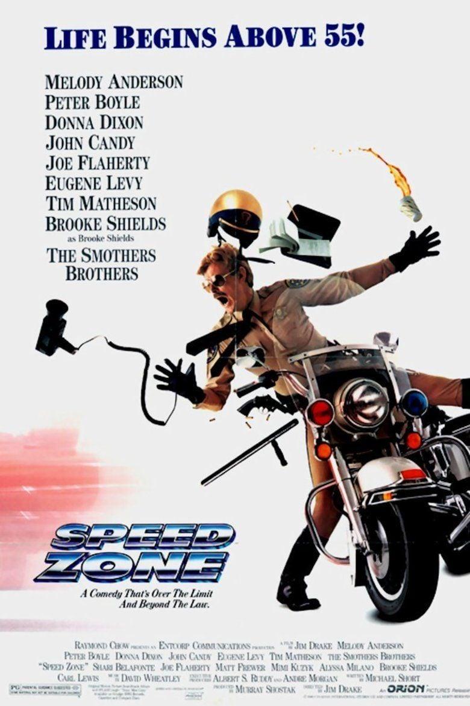 Speed Zone movie poster