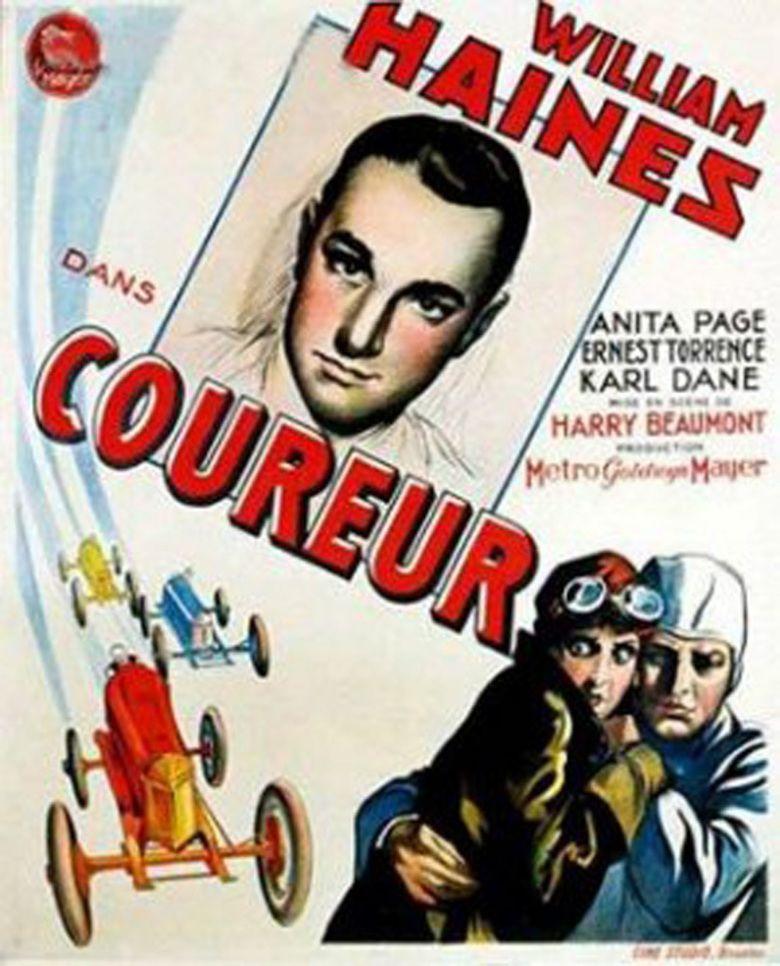 Speedway (1929 film) movie poster