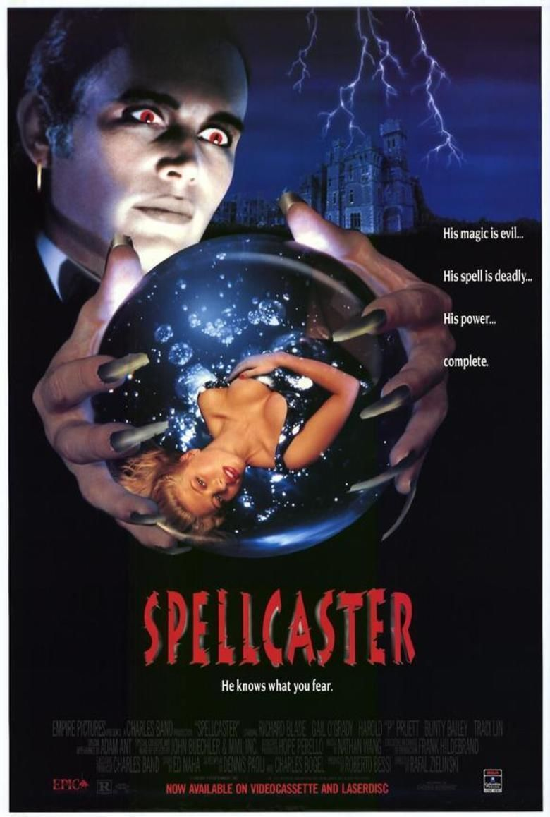 Spellcaster (film) movie poster