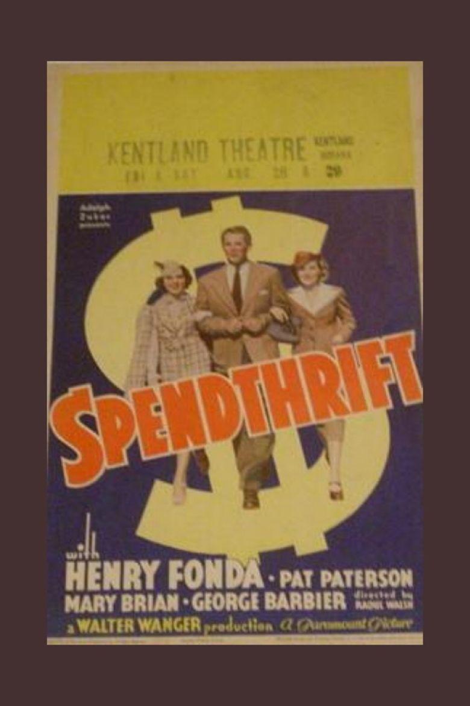 Spendthrift (film) movie poster
