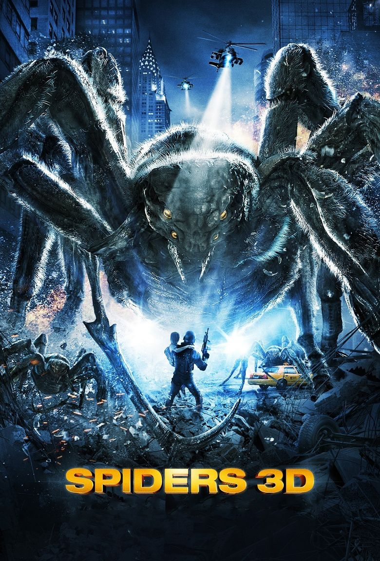 Spiders 3D movie poster