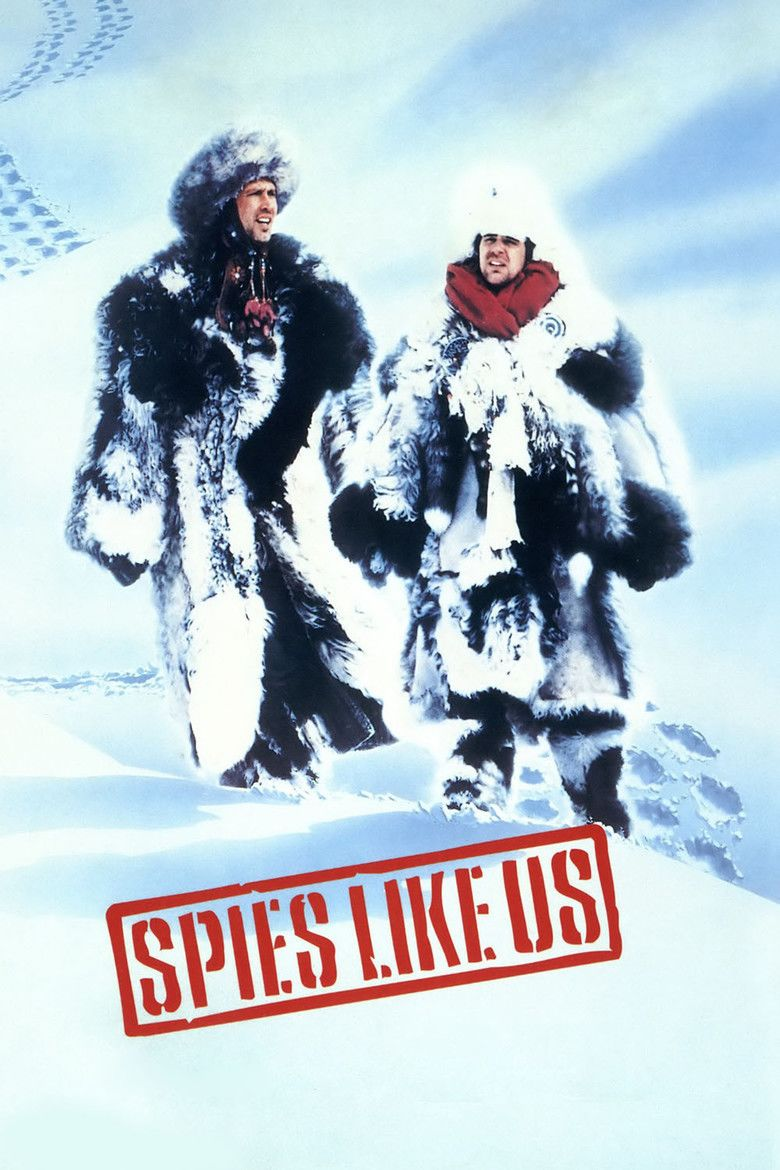 Spies Like Us movie poster