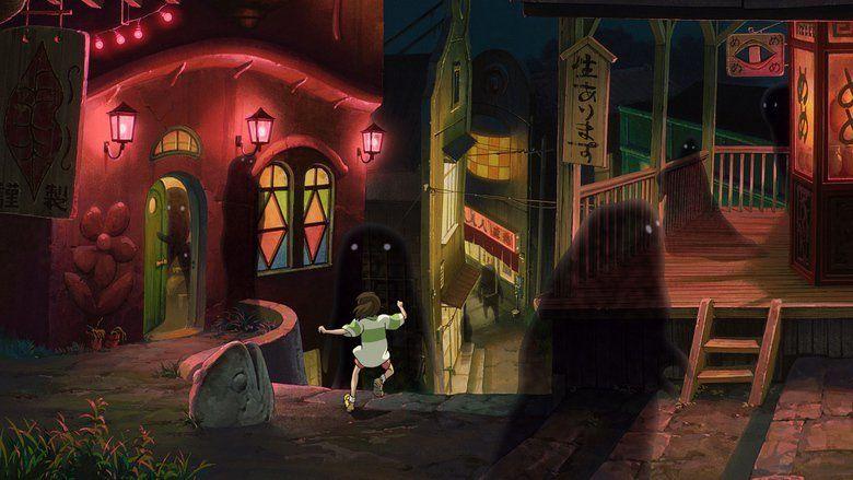 Spirited Away movie scenes