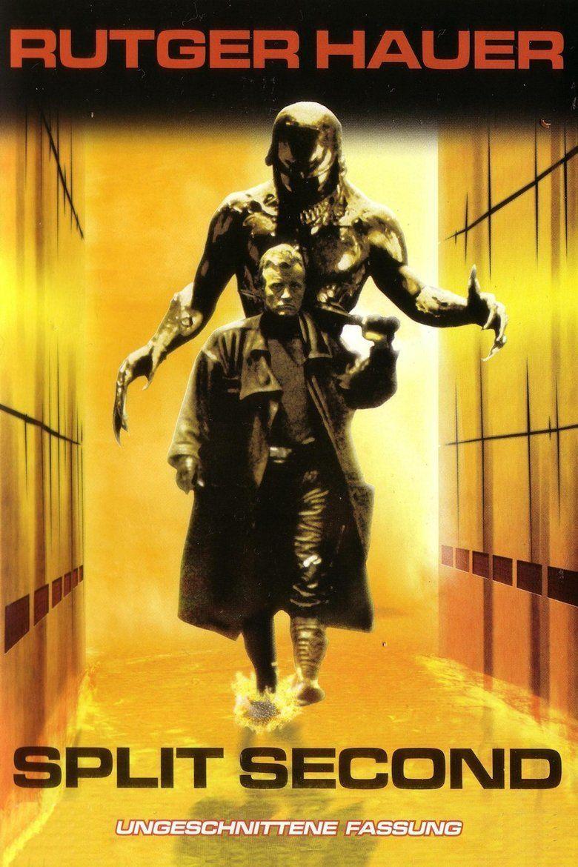 Split Second (1992 film) movie poster
