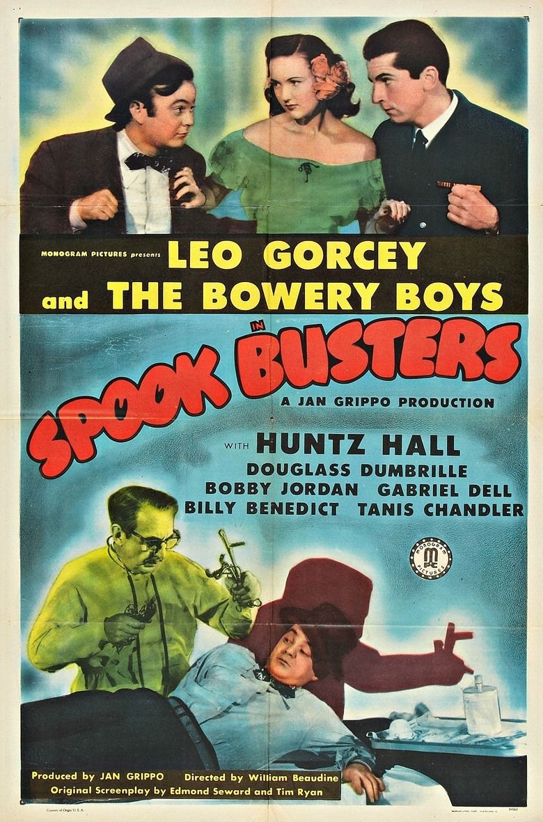 Spook Busters movie poster