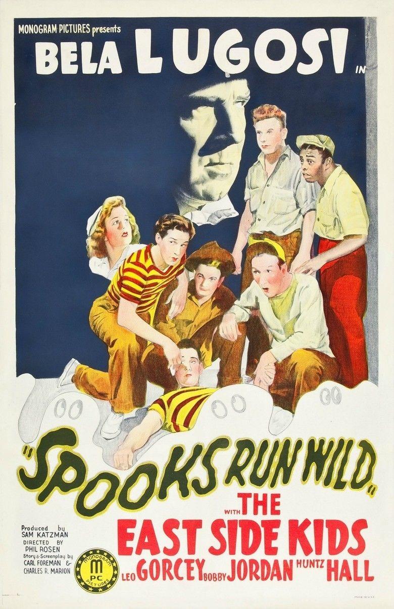 Spooks Run Wild movie poster