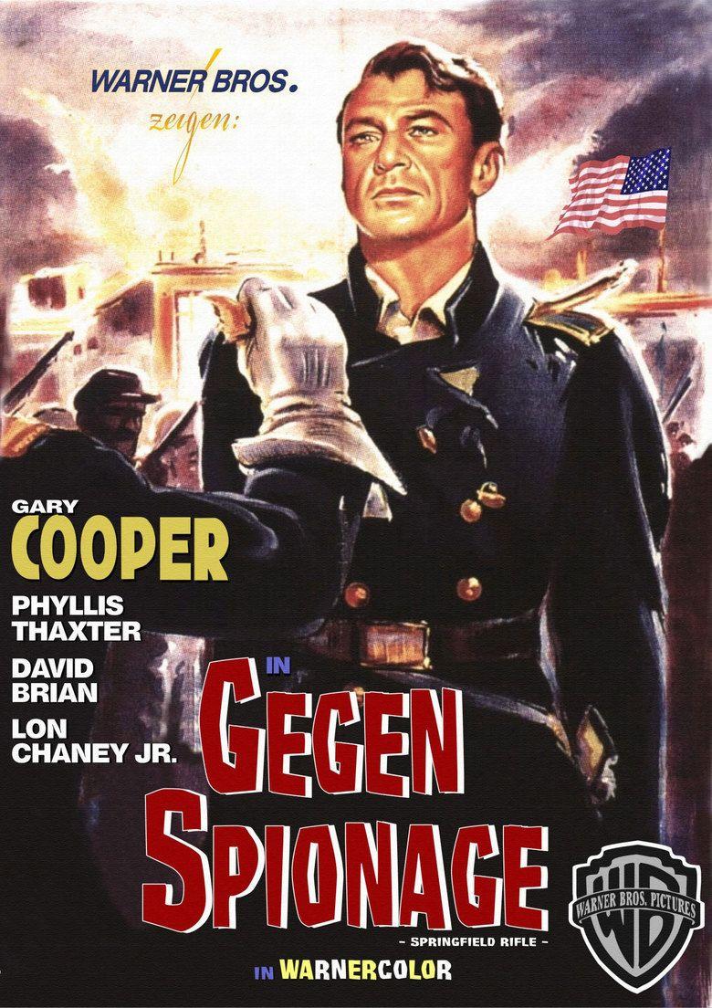 Springfield Rifle (film) movie poster