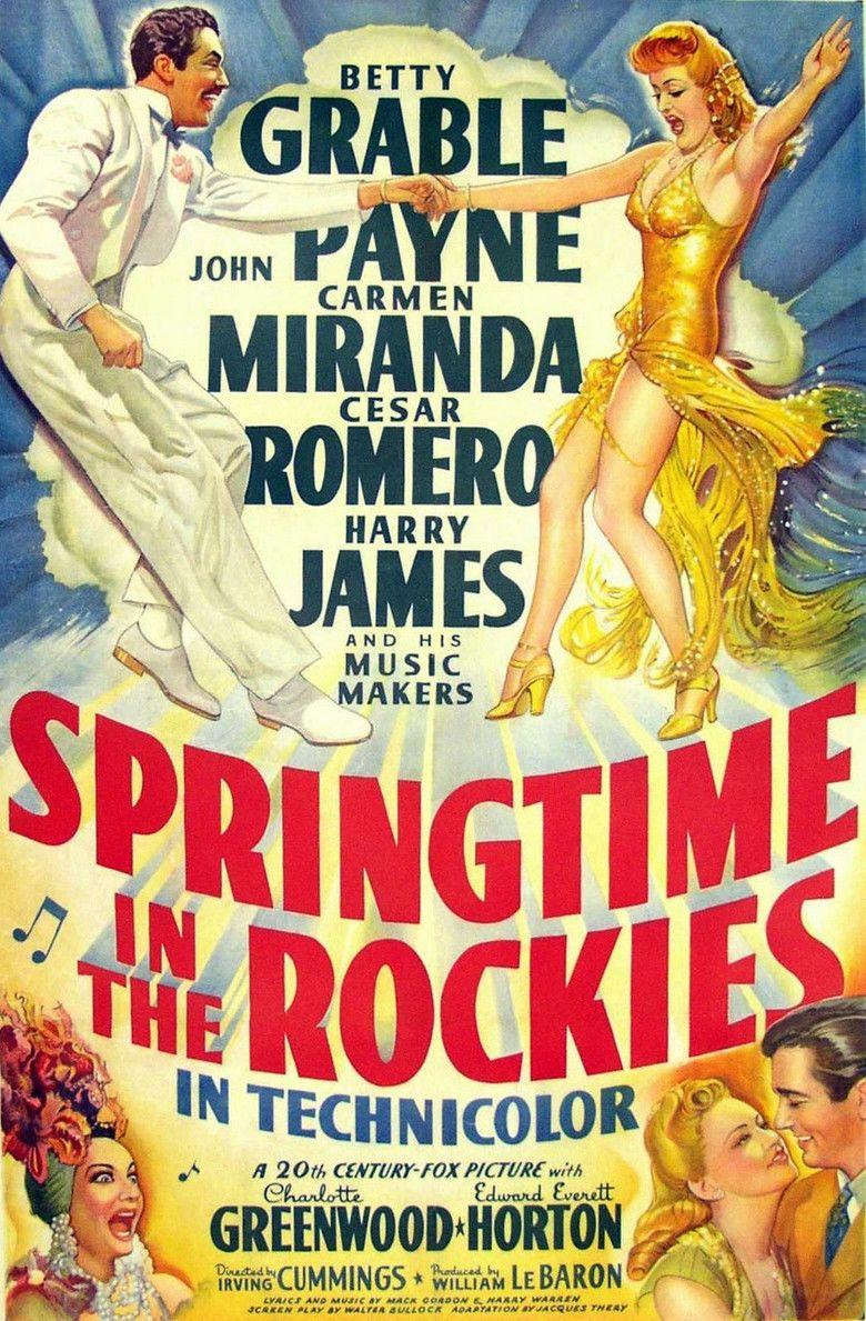 Springtime in the Rockies movie poster