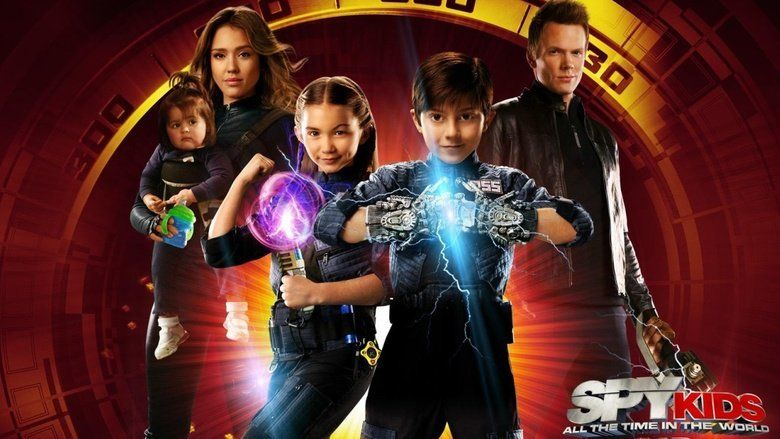 Spy Kids: All the Time in the World movie scenes