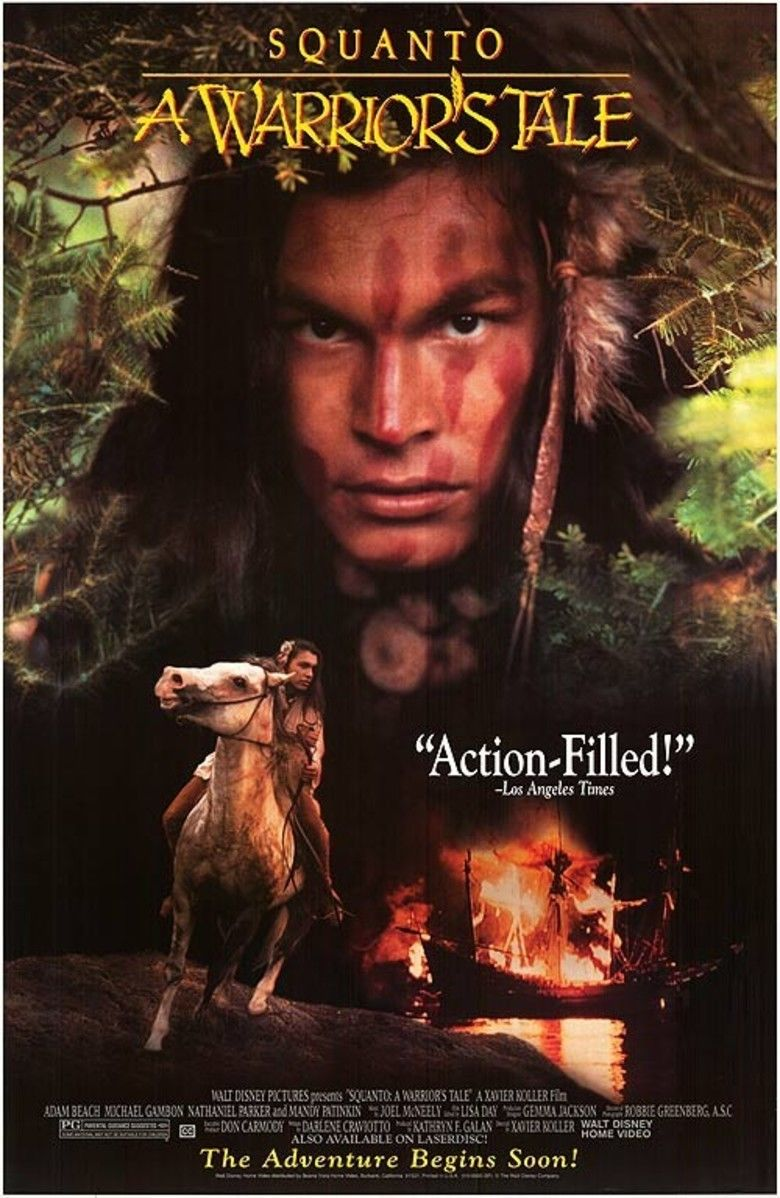 Squanto: A Warriors Tale movie poster
