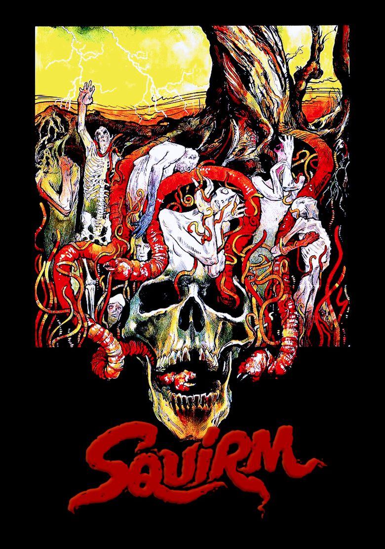 Squirm (film) movie poster