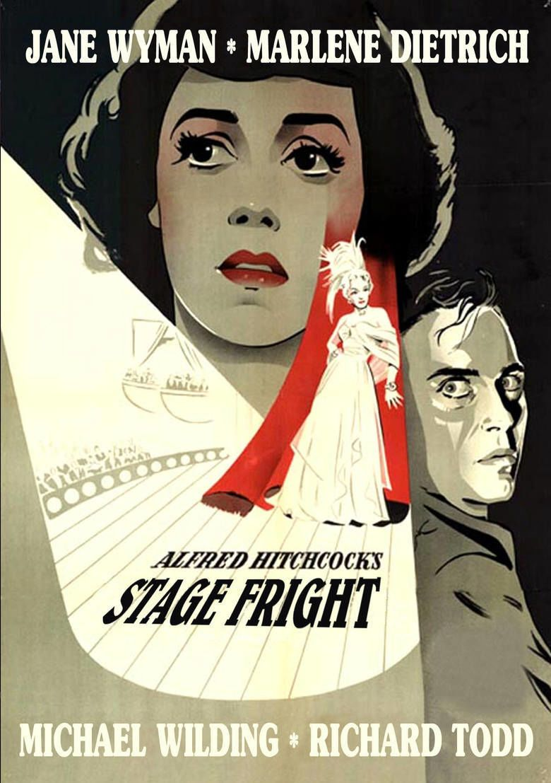 Stage Fright (1950 film) movie poster