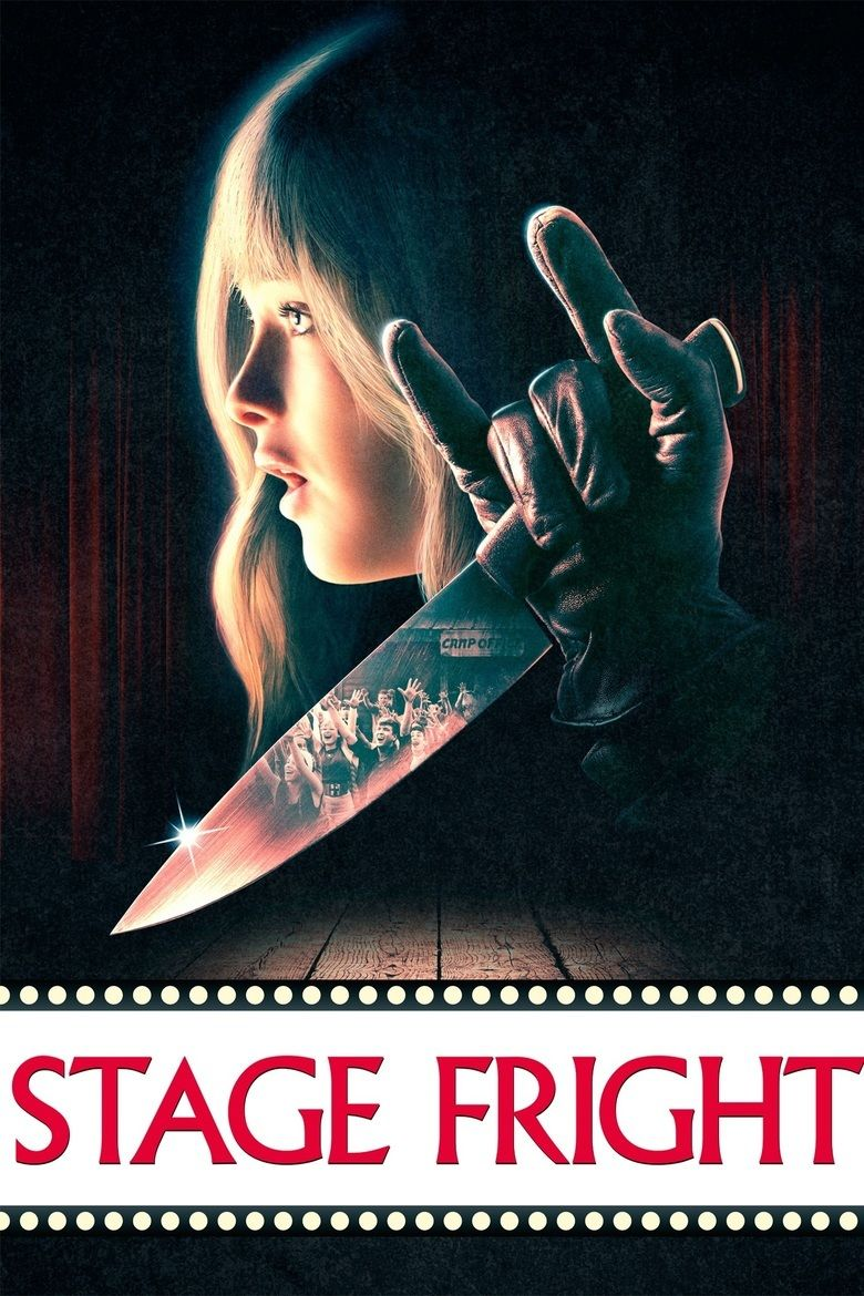 Stage Fright (2014 film) movie poster
