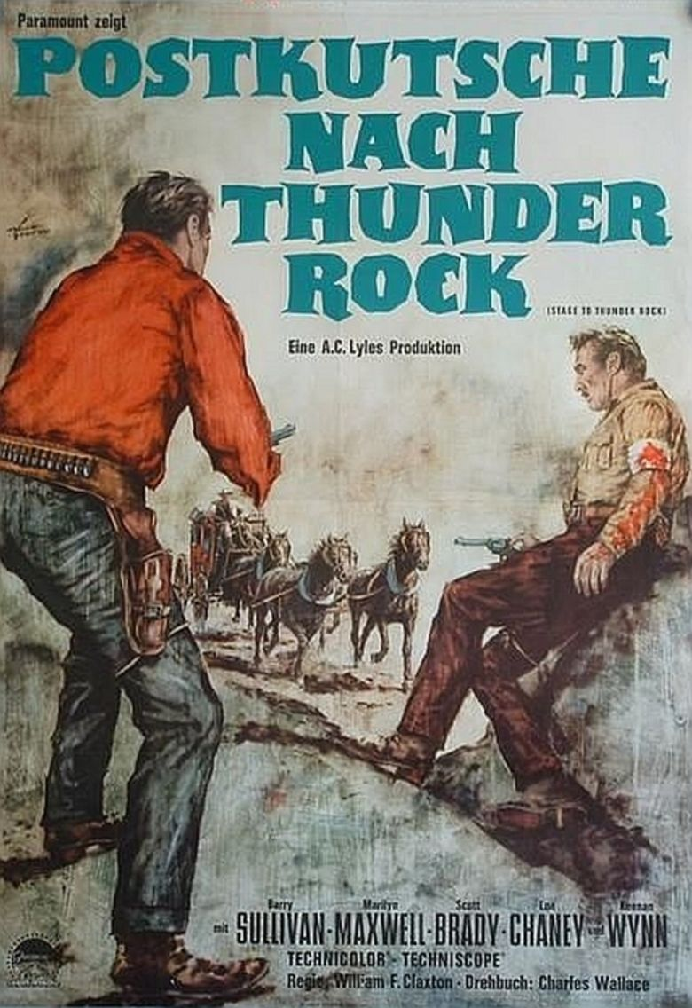 Stage to Thunder Rock movie poster