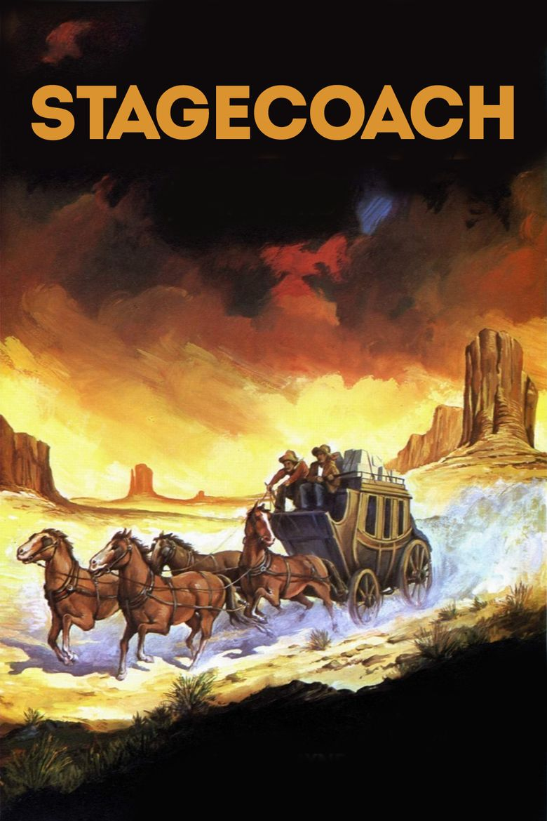 Stagecoach (1939 film) movie poster