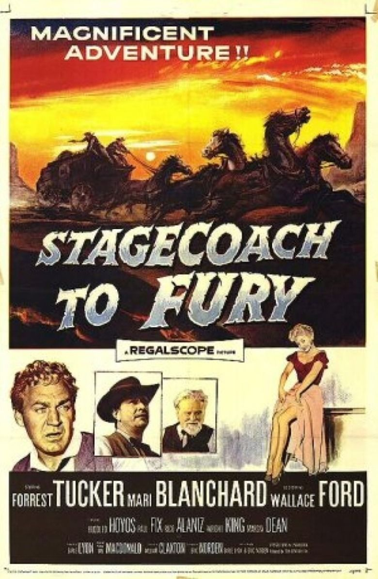 Stagecoach to Fury movie poster