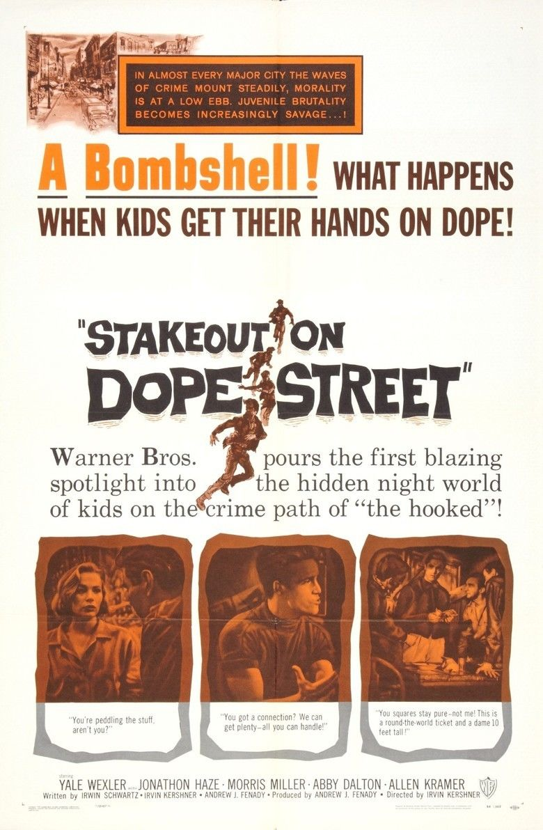 Stakeout on Dope Street movie poster