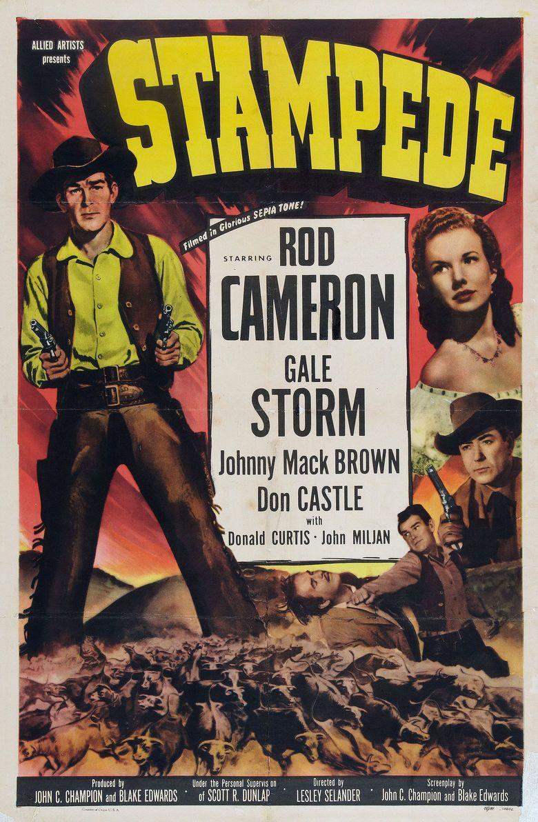 Stampede (film) movie poster
