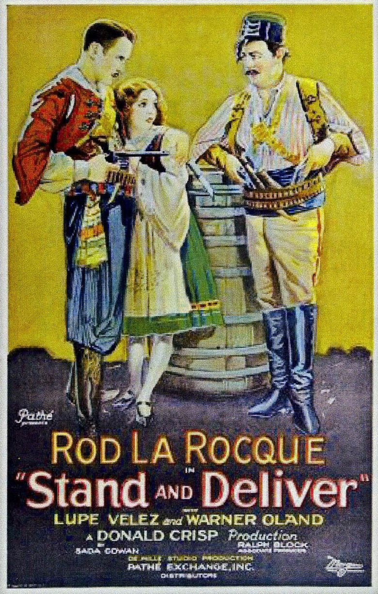 Stand and Deliver (1928 film) movie poster