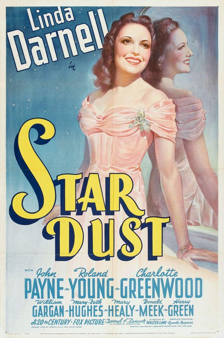 Star Dust (film) movie poster