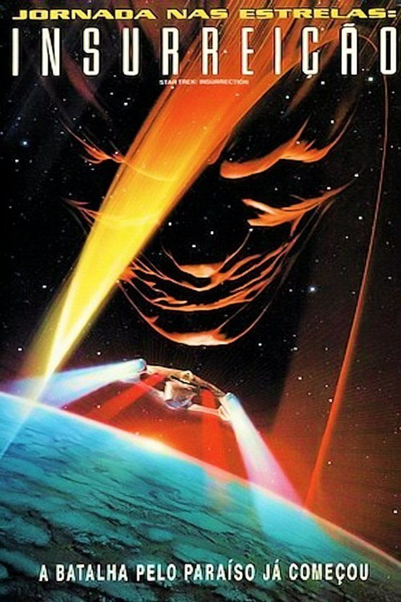 Star Trek: Insurrection movie poster