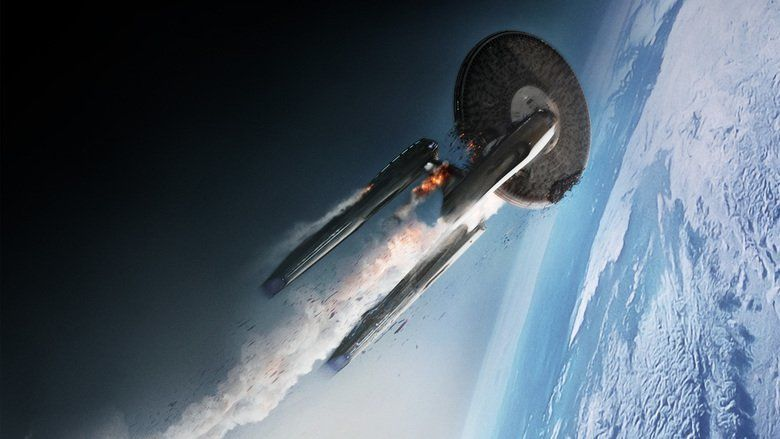 Star Trek Into Darkness movie scenes