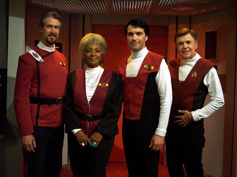 Star Trek: Of Gods and Men movie scenes