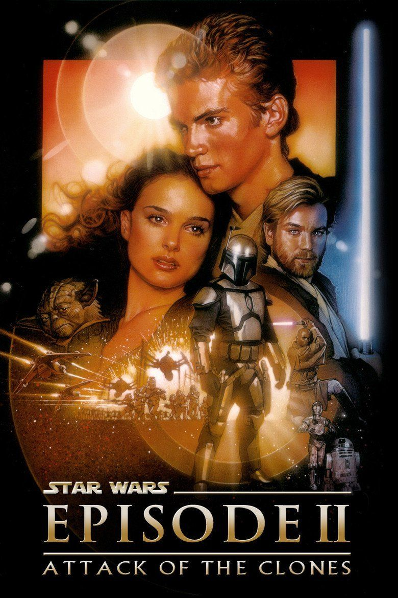 Star Wars Episode II: Attack of the Clones movie poster