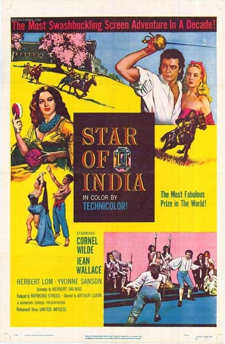 Star of India (film) movie poster