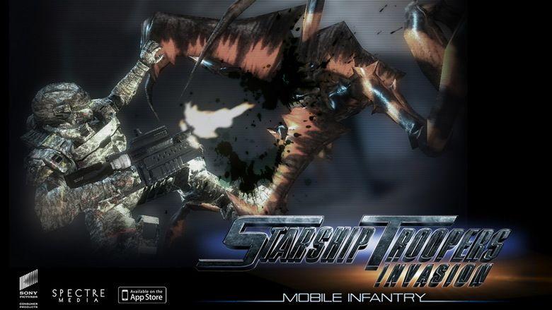 Starship Troopers: Invasion movie scenes