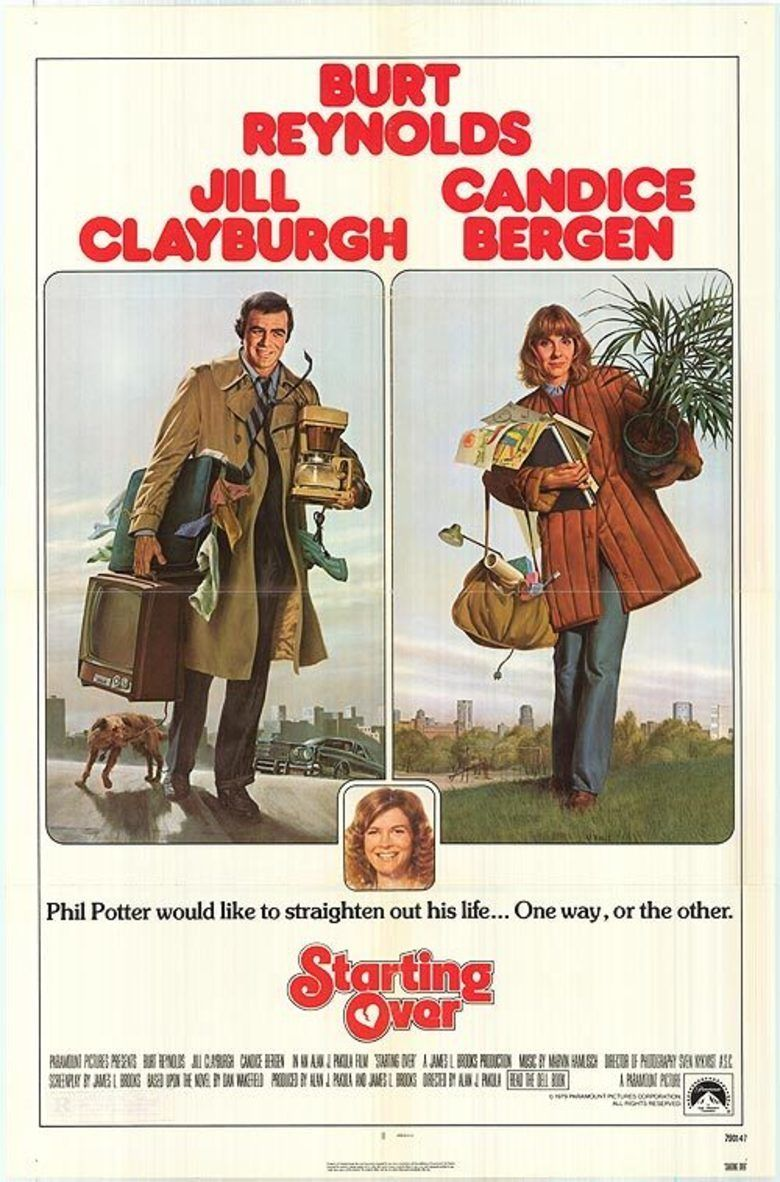 Starting Over (1979 film) movie poster