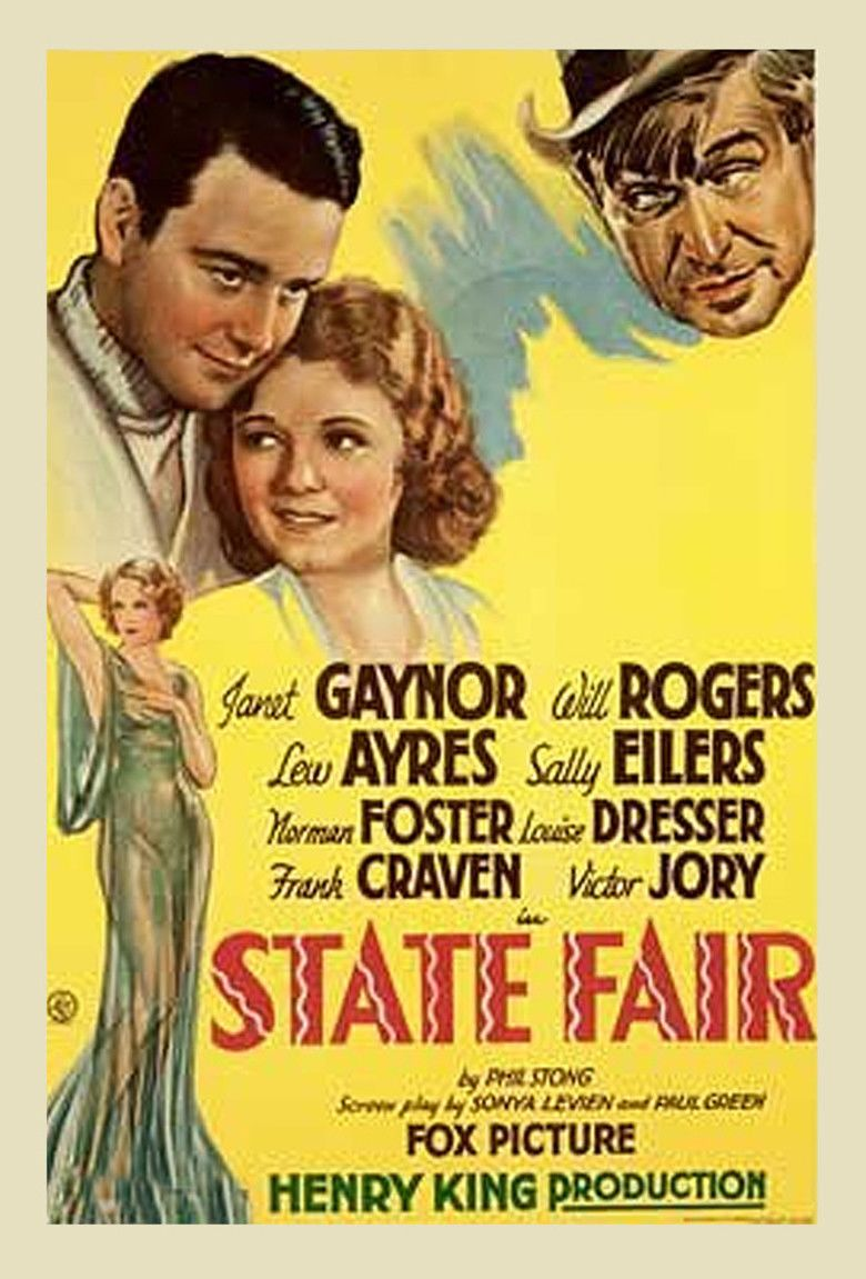 State Fair (1933 film) movie poster