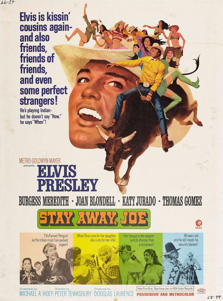 Stay Away, Joe movie poster