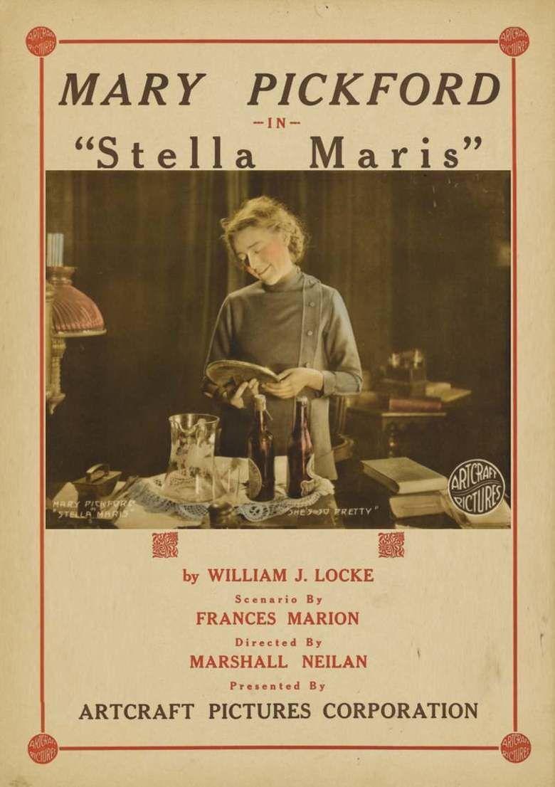 Stella Maris (1918 film) movie poster