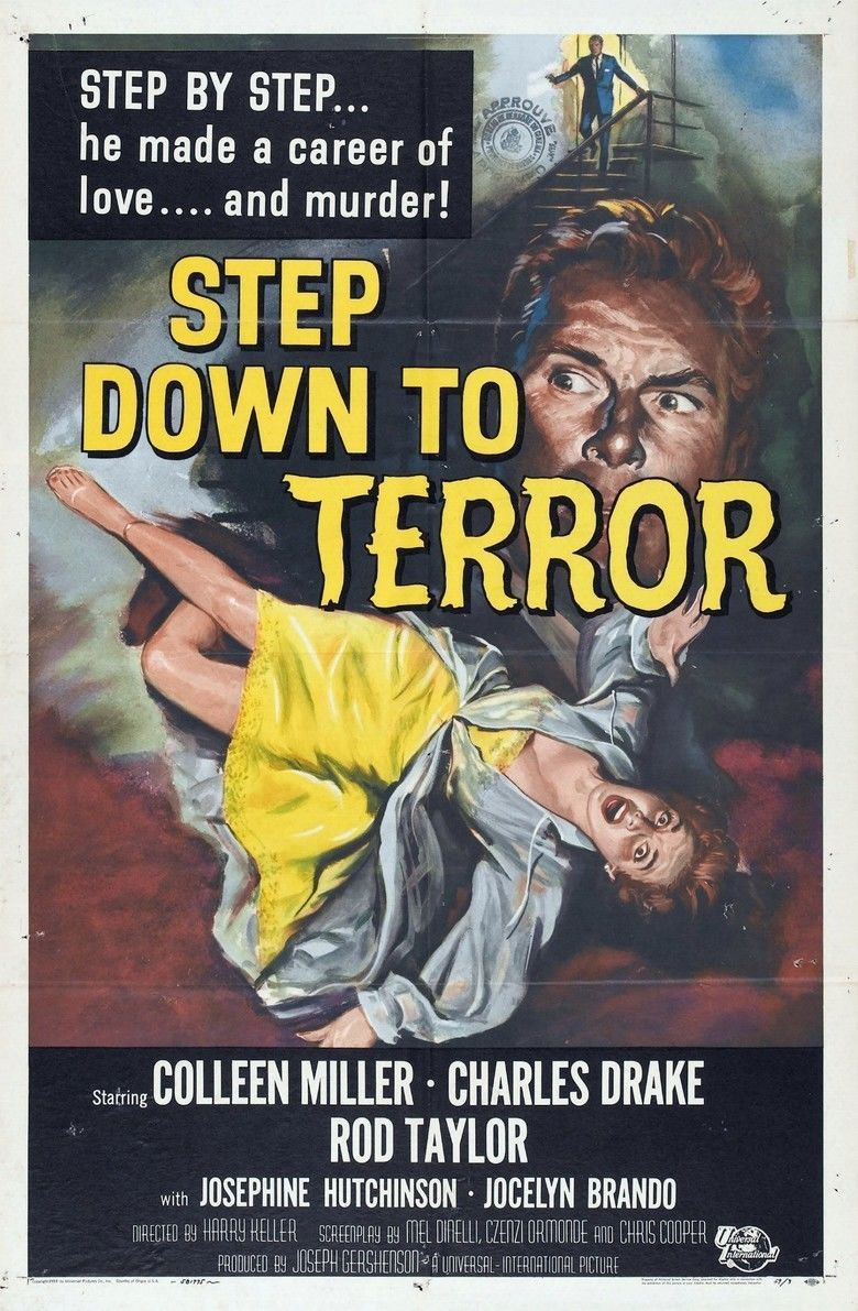 Step Down to Terror movie poster