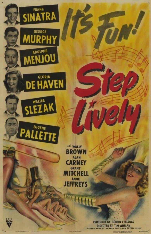 Step Lively (1944 film) movie poster