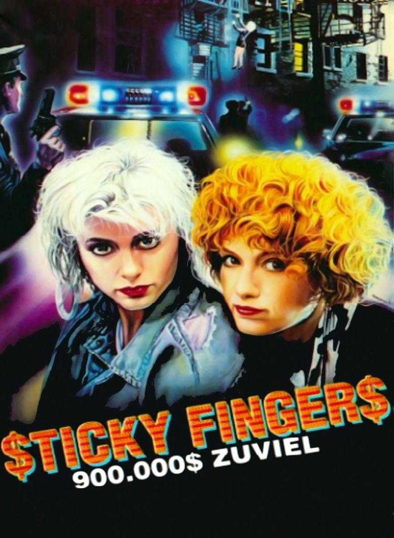 Sticky Fingers (1988 film) movie poster