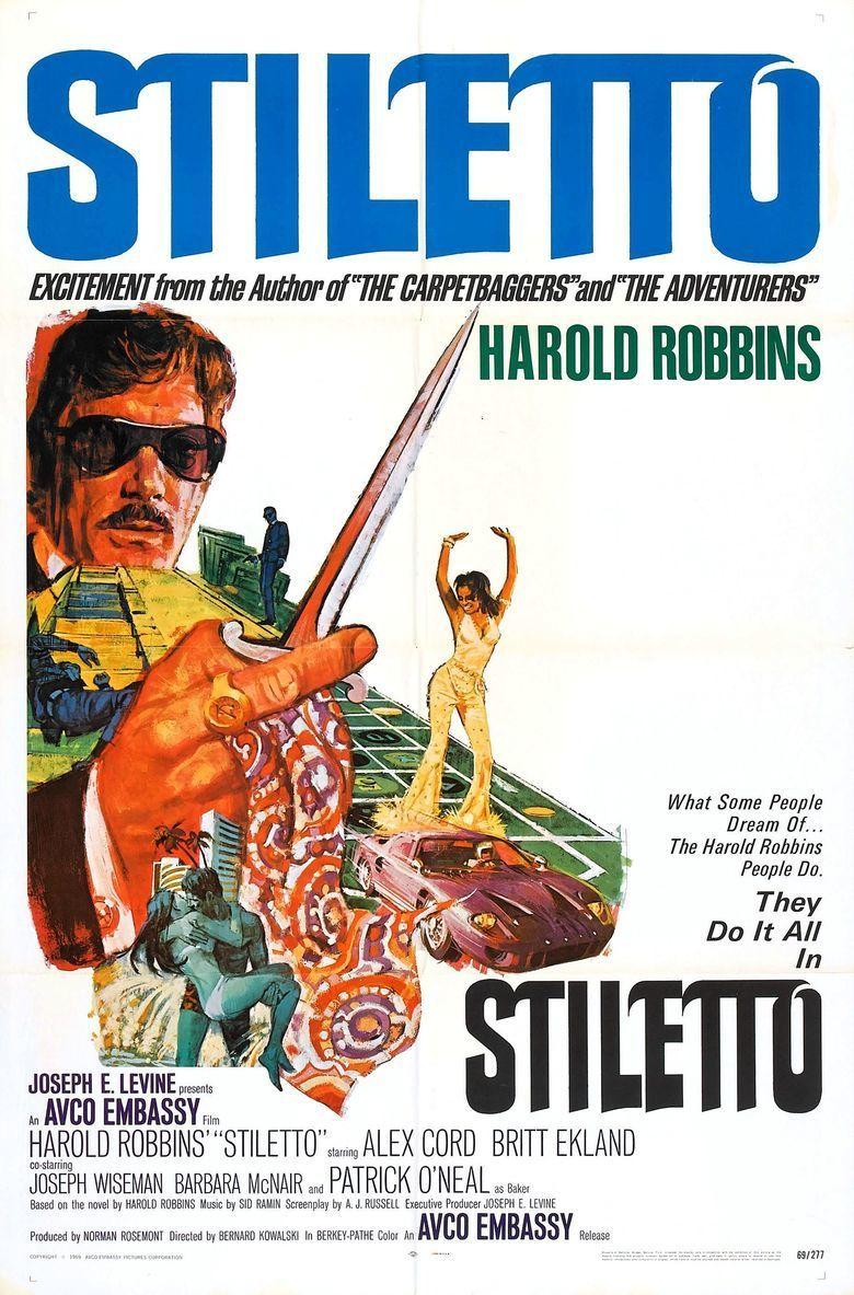 Stiletto (1969 film) movie poster