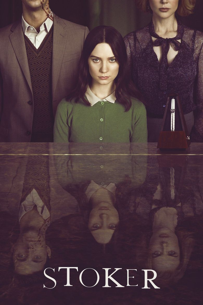 Stoker (film) movie poster