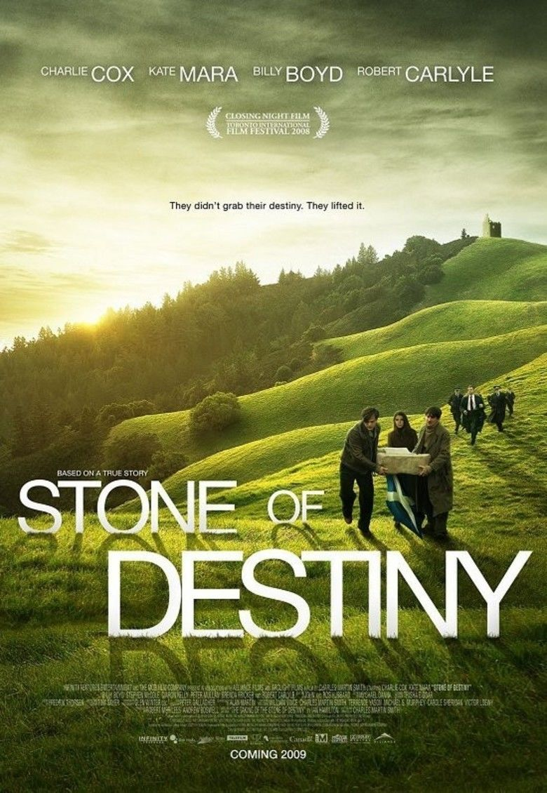 Stone of Destiny (film) movie poster
