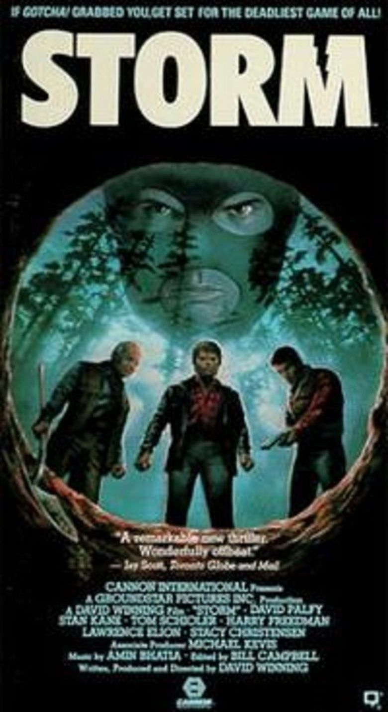 Storm (1987 film) movie poster
