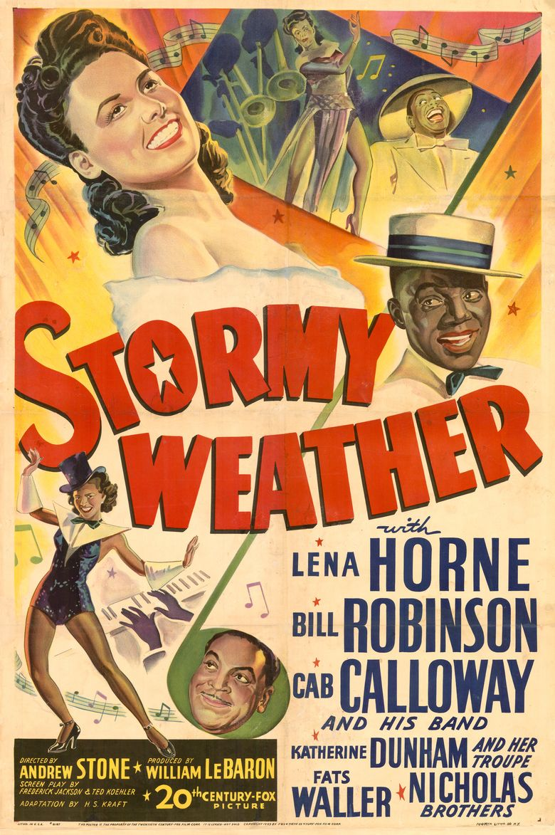 Stormy Weather (1943 film) movie poster